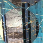 Lorraine Thorne, Beneath the Surface, Original Abstract Painting 4