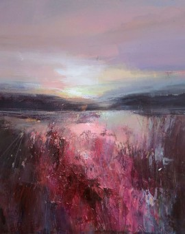 Magdalena Morey - Walking in the Evening Light 2 - Wychwood Art