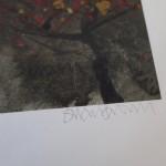 Susan Brown, Edinburgh Castle, Limited Edition Print, Landmark Art, Scottish Art, Art of Edinburgh, Graduation Presents 2