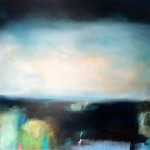laura rich, land lines, oil on linen, 150cms x 120cms, original painting, wychwood art gallery
