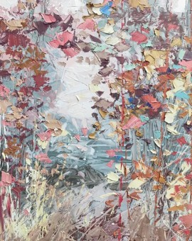 Autumn Flutter 80x80 £3,600