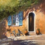 Bicyclette-Michael-Sanders-Wychwood-Art-Limited-edition-canvas-print