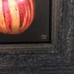 Dani-Humberstone-Striped-Apple-Wychwood-Art-Framed-Art-Signature