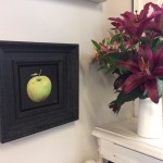 Dani-Humberstone-Very-Green-Apple-Wychwood-Art-Framed-Art-interior2