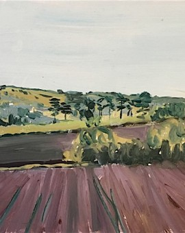 Eleanor Woolley | Autumn Landscape | Expressionist