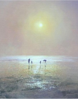 Family-at-Sunset-Wychwood-Art-Michael-Sanders