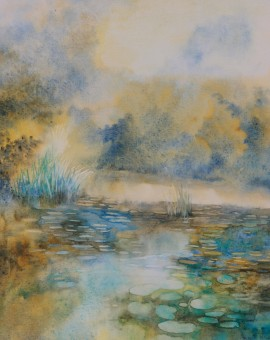 Gathering Water Lilies Wychwood Art .jpeg