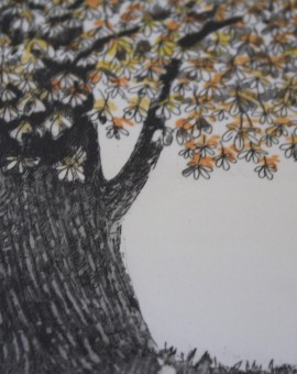 Jane Peart, Autumnal Glow, Limited Edition Etching 5