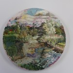 Lisa Takahashi, A Late Summer's Day By The Stour, Original Landscape Painting, Contemporary Painting