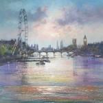 London-Eye-Michael-Sanders-Artist-Wychwood-Art