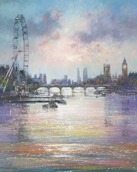 London-Eye-Michael-Sanders-Artist-Wychwood-Art