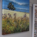 Michael Sanders, Summer Hedgerows, Limited Edition Print, Canvas Print, Landscape Art, Affordable Art