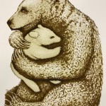 Southall Tim. Bear Hugs  Chocolate. Wychwood Art