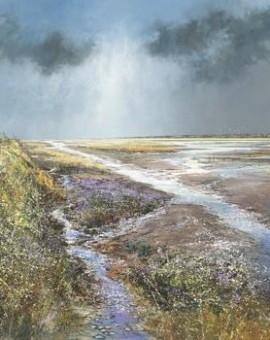 Titchwell_Marsh_Wychwood_Art_Gallery_Michael_Sanders_Limited_Edition_Canvas
