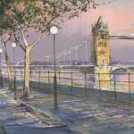 Tower-Bridge-and-Embankment-Michael-Sanders-Wychwood-Art