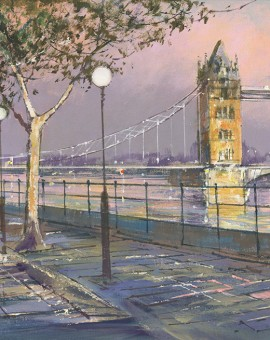 Tower-Bridge-and-Embankment-Michael-Sanders-Wychwood-Art