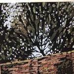 Alexandra Buckle | Claydon Pond Reflections | Limited Edition Lino Print | Contemporary Art