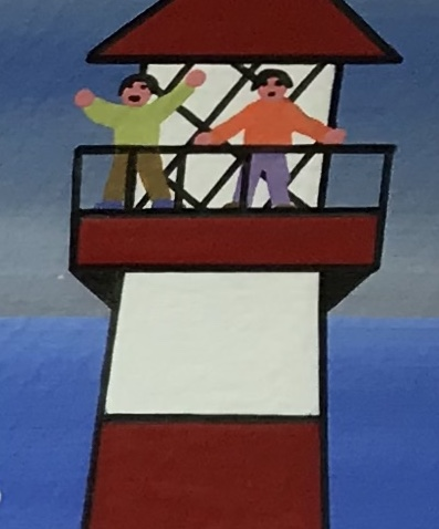 Acrylic on acid free paper
