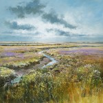 marsh-lavender-Michael-Sanders-Wychwood-Art-limited-Edtition-Print