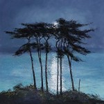 moonlit-Palms-Moonlit-Pines-Michael-Sanders-Wychwood-Art