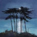 moonlit-Palms-Moonlit-Pines-Michael-Sanders-Wychwood-Art