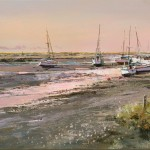 the-creek-at-sunset-Michael-Sanders-Wychwood-Art-Limited-edition-print