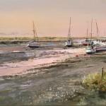 the-creek-at-sunset-Michael-Sanders-Wychwood-Art-Limited-edition-print