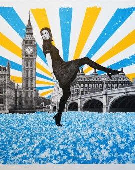 Anne Storno_London Stride_Edition of 14_Screenprinting_58x 39cm_£200_small size