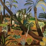 Elaine Kazimierczuk Little Marjorelle with Leaning Palms Wychwood Art