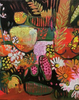 Elaine Kazimierczuk Paul's Hedgerow Bouquet I Wychwood Art