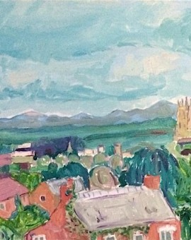 Eleanor Woolley | Gloucester Cathedral | Expressionist