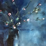 Jemma powell – Great Tew Blossom II – Original Oil Painting 1