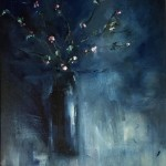 Jemma powell – Great Tew Blossom II – Original Oil Painting 4