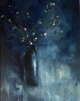 Jemma powell - Great Tew Blossom II - Original Oil Painting 4