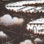 John Duffin, Thames Cloud, Limited Edition Print, London Art 2