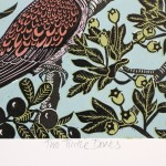 KateHeissTwoTurtleDoves-signature_birds_print_contemporary_illustration_WychwoodArts