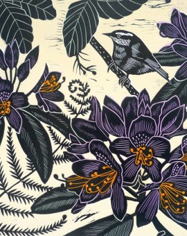 KateHeiss_NuthatchAtSandringham_Birds_landscape_Norfolk_WychwoodArts