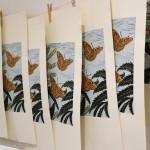 KateHeiss_Snettisham Sweet Chestnut_limitededition_print-Linocut-studio_WychwoodArt