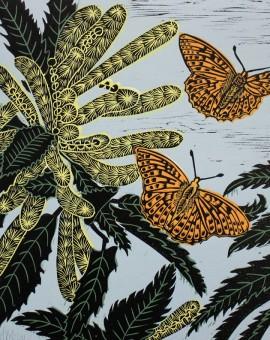 KateHeiss_SnettishamSweetChestnut-email_fritillary_butterfly_Sweetchestnut_nature_illustration_print_WychwoodArt