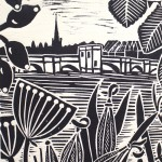 KateHeiss_StIves-boat_Print_Linocut_WychwoodArts