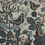 KateHeiss_WhiteAdmiralsInTheWood_honeysuckle_flowers_print_WychwoodArts