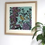 KateHeiss_ntheGarden-Lilac_blue_Birds_WychwoodArts