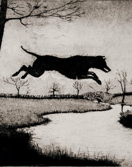 Leaping hound, Tim southall, Prints