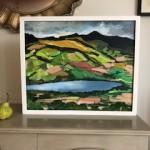 Maggie-Banks-Art-Painting-Mixed-Media-Board-Brecon-mountains-&-Llangarron-Far-Image