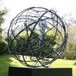 Mark Beattie | Global Odyssey | abstract garden sculpture_2_Wychwood Art