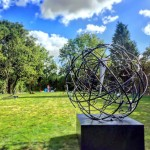 Mark Beattie | Global Odyssey | abstract garden sculpture_3_Wychwood Art