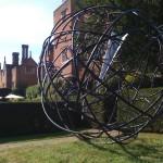 Mark Beattie | Global Odyssey | abstract garden sculpture_5_Wychwood Art