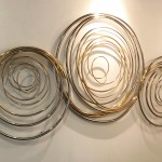 Mark Beattie | River of Gold small | abstract wall sculpture_group_Wychwood Art