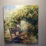 Original Mariusz Kaldowski Painting, Rendez-Vous, Contemporary Landscape Painting for Sale Online3