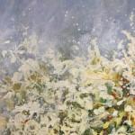 Original Mariusz Kaldowski Painting, Rendez-Vous, Contemporary Landscape Painting for Sale Online4